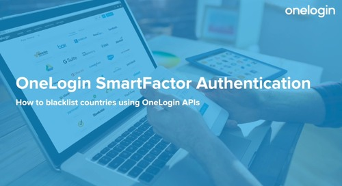 OneLogin SmartFactor Authentication: How to blacklist countries using OneLogin APIs