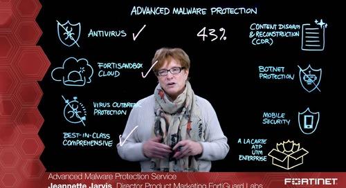 Advanced Malware Protection Service - Lightboard