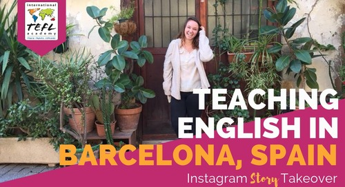 Day in the Life Teaching English in Barcelona, Spain with Daniella Mazzeo