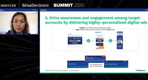 How Okta went Virtual in 21 Days to Close the Demand Gap - SiriusDecisions Virtual Summit