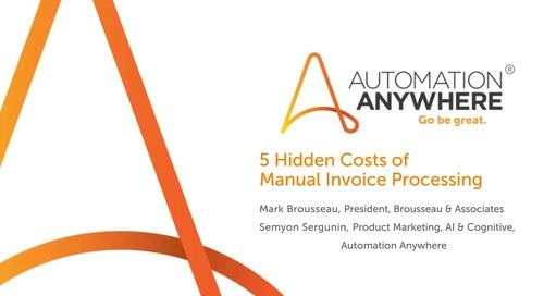 5 Hidden Costs of Manual Invoice Processing