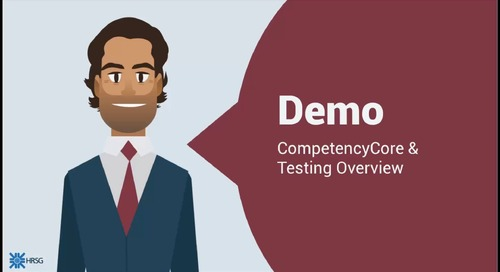 Emrah STC Demo: Overview of CompetencyCore and Testing