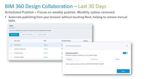 BIM 360: What's New, What's Next with the Product Team - February 2019