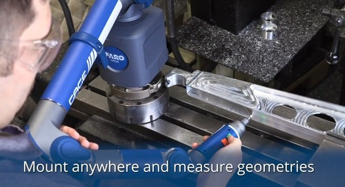 Unrivaled new portable 3D measurement solution for production floor [webinar]
