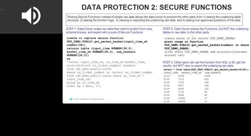 Webinar - Sharing Data Securely