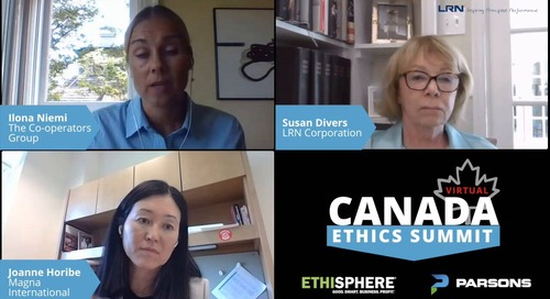 Canada Ethics Seminar - Training Best Practices in a Virtual World