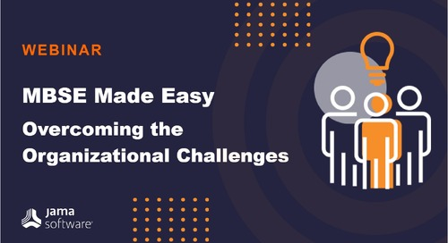 MBSE Made Easy - Overcoming the Organizational Challenges