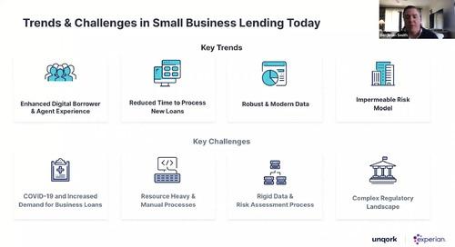 Webinar: Smarter Small Business Lending with Experian