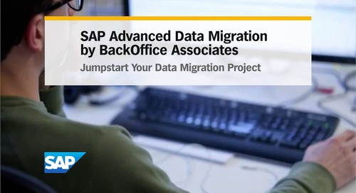 SAP Advanced Data Migration by BackOffice Associates