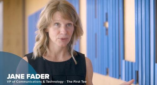 お客様事例動画 - ザ・ファースト・ティ による Salesforce の使い方 - The First Tee