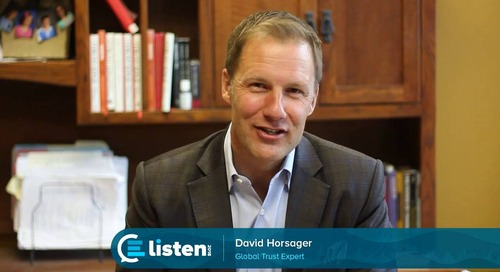 David Horsager: LISTEN 2018 Keynote Speaker