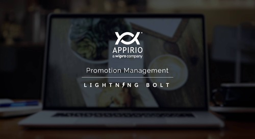 Appirio's Promotion Management Lightning Bolt