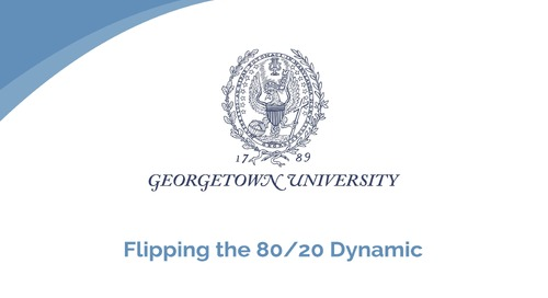 Doug Little: Flipping the 80/20 Dynamic