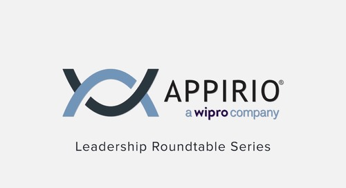 Leadership Roundtable Series - The Appirio Way