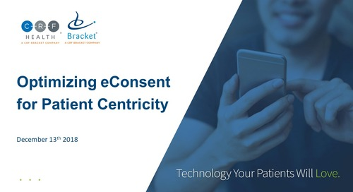 Optimizing eConsent for Patient Centricity