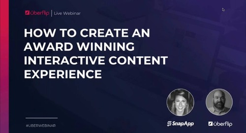 How to Create an Award-Winning Interactive Content Experience