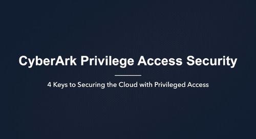 通过特权访问管理保护云的 4 个关键步骤