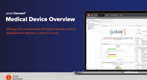 Jama Connect™ for Medical Devices