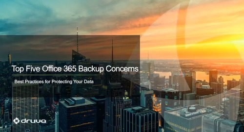 Top 5 Office 365 Backup Concerns: Best Practices for Protecting Your Data