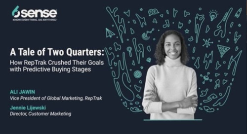 A Tale of Two Quarters: How RepTrak Crushed their Goals with Predictive Buying Stages