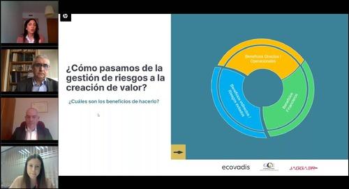 EcoVadis y JAGGAER hablan sobre la importancia de la sostenibilidad y la digitalización para mejorar el ROI empresarial