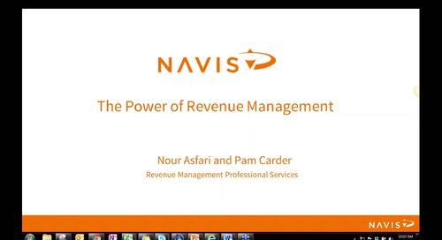 NAVIS Performance Webinar Series: The Power of Revenue Management Best Practices