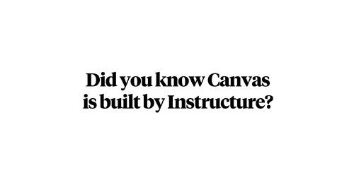 Canvas Built By Educators