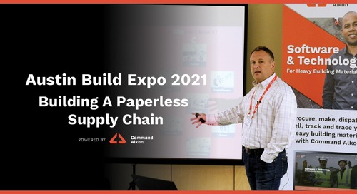 Austin Build Expo 2021 | Building a Paperless Supply Chain