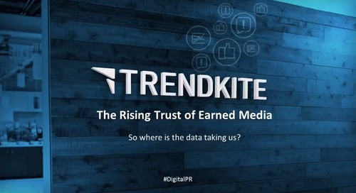 The Rising Trust of Earned Media