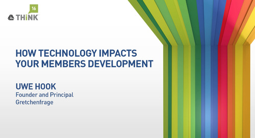 How Technology Impacts Your Members' Development