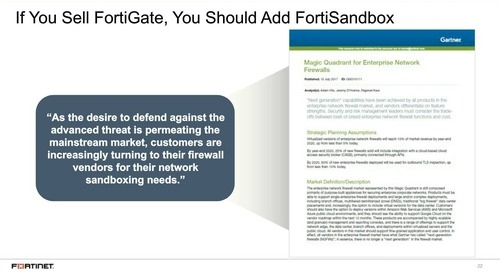 How to Cross Sell FortiSandbox to Your Existing FortiGate Install Base