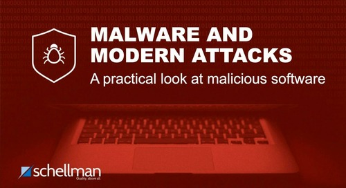 Malware and Modern Attacks
