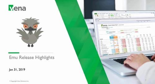 EMU Product Release Company Kick-off