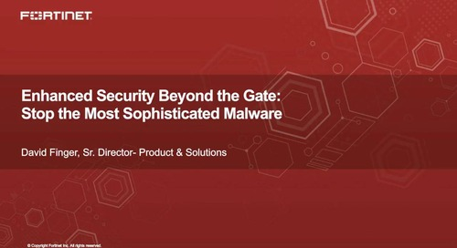 Enhanced Security Beyond the Gate: Stop the Most Sophisticated Malware