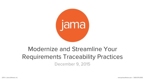Modernize & Streamline Your Traceability Process