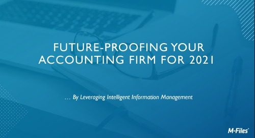 Future-proofing your Accounting Firm for 2021 - Accounting Today