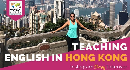 Day in the Life Teaching English in Hong Kong with Shelby Gehrdes