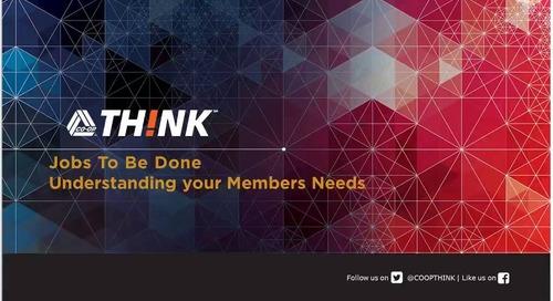 1 Jobs To Be Done Understanding Your Members' Needs