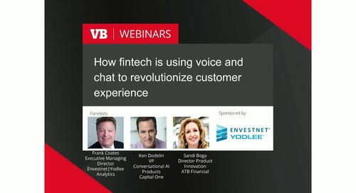 On-Demand Webinar: How Fintech is Using Voice and Chat to Revolutionize Customer Experience