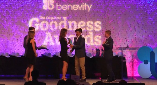 Benevity Goodness Matters 2019 Highlights