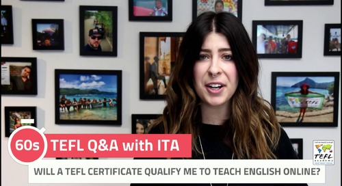 Will a TEFL Certificate Qualify Me to Teach English Online? - TEFL Q&A with ITA