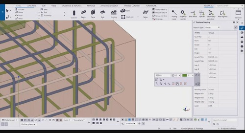 Tekla 2020 - What's New for Cast-in-Place