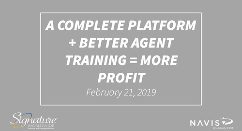 A Complete Platform + Better Agent Training = More Profit