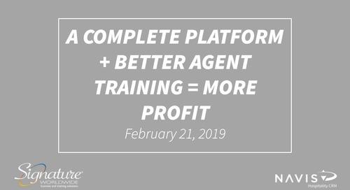 A Complete Platform + Better Agent Training = More Profit