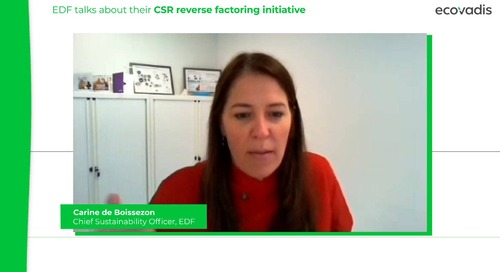 EDF Talks About Their CSR Reverse Factoring Initiative