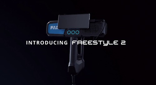 Fast, photorealistic 3D reality capture with the Freestyle 2