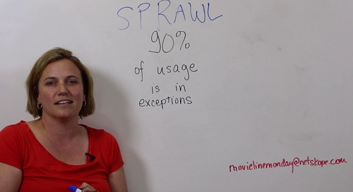 Movie Line Monday 32 - Exception Sprawl at Work