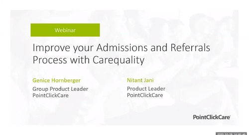 Improve your Admissions and Referrals Process with Carequality