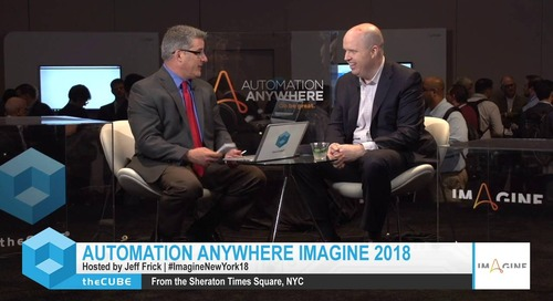 Kevin Kroen, PwC, Imagine New York 2018 Interview
