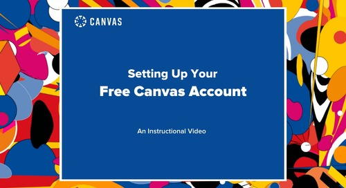 Setting Up Your Free Canvas Account
